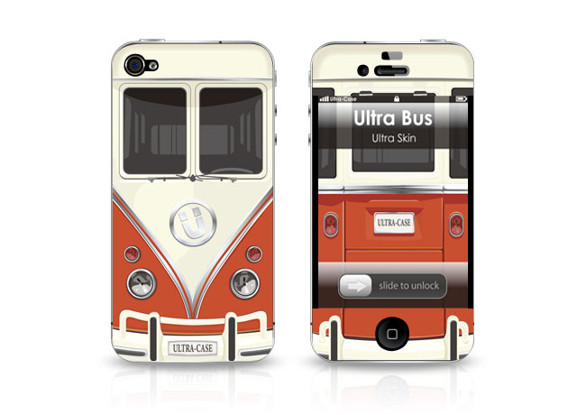 Det Ultimative iPhone 4 VW Cover!